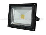 NeoLED LED reflektor COB 20W, IP 65 6000K černý