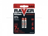 RAVER EXTREME B7811 baterie AAA lithiové