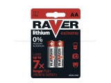 RAVER EXTREME B7821 baterie AA lithiové