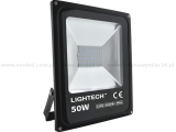 Lightech reflektor LED SMD 50W IP65 6500K  3500lm černý
