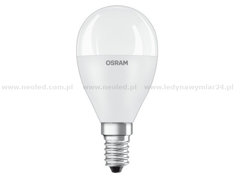 OSRAM VALUE LED žárovka E14 10W-60W 2700K 806lm