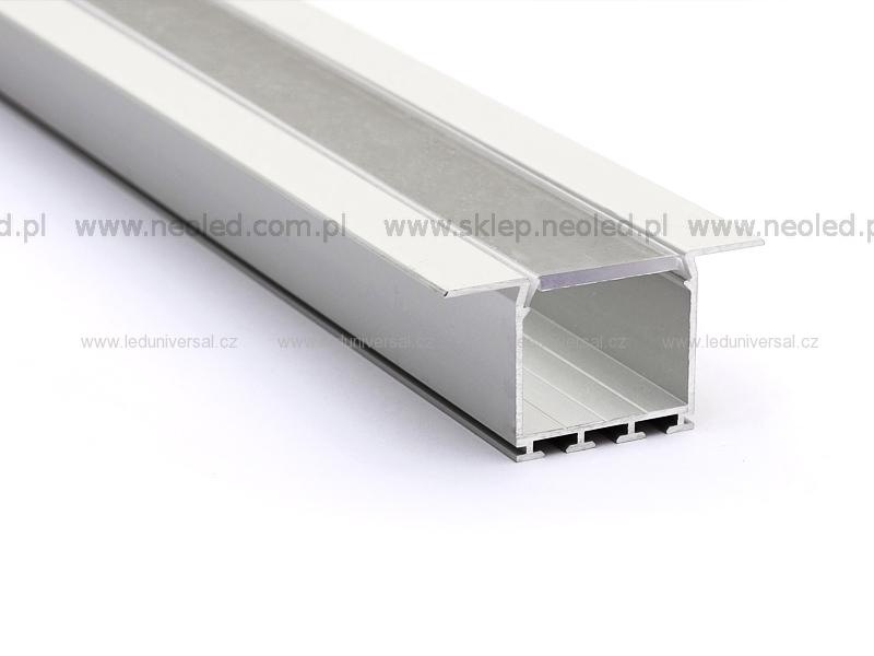 Profil LED LARKO průhledný kryt 75e314440d