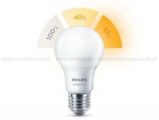Philips Scene Switch SSW 8/5/2W-60W A60 2700/2500/2200K FR ND 1BC/6 806/320/80lm