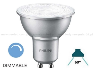 Philips MASTER LEDspot MV VALUE GU10 60° 4.3W 4000K 365lm stmívací