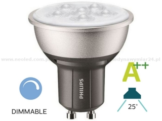 Philips MASTER LEDspot MV VALUE GU10 25° 4.3W 4000K 390lm stmívací