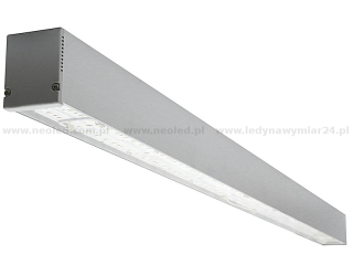 NeoLED LINEO-116CT CERTA PHILIPS LED 80W CRI80 116cm difuzor transparentní