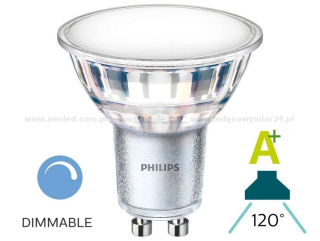 Philips MASTER LEDspot  Value GU10 840 120D 4000K 7W 860lm stmívací