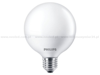PHILIPS LED Globe žárovka E27 G93 8,5W 2700K 806lm 1CT/1CT/4