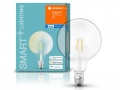 LEDVANCE LED SMART žárovka+FILAMENT GLOBE DIMMABLE E27 6,5W 2700K Bluetooth